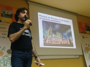 Felix en StartupWeekend Burgos