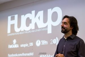 Felix Lopez en Fuckup Nights Madrid