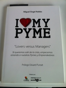 Libro I love My Pyme M.A. Robles