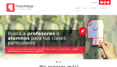 Site teachapp.es